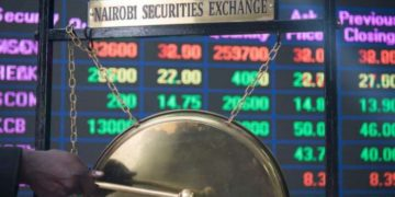 Safaricom shares stirred the Nairobi Securities Exchange (NSE) Friday's trading, invigorating the market which closed the week on a high, with 97 million shares valued at Ksh2.2 billion transacted against Ksh1 billion on 44 million shares posted the previous week. All NSE indices closed the week in the green led by the NSE 20 share which picked up 10.55 points to stand at 2794.43.