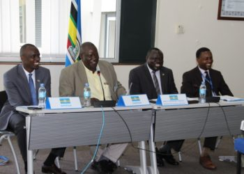 Environment meeting at EAC Headquarters