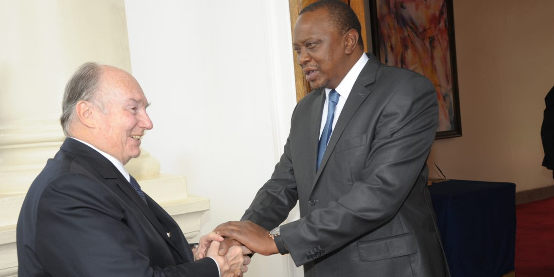 The Aga Khan is in the country at the invitation of the Government of Kenya to commemorate his Diamond Jubilee – 60 years since he assumed the role as 49th hereditary Imam of the global Shia Ismaili Muslim community.