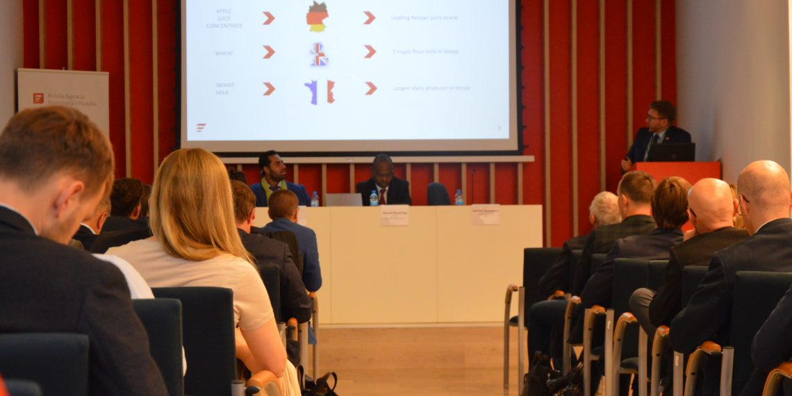 Delegates at the recent 1st Kenyan Investment Conference in Warsaw, Poland. The event organised by the Polish Investment and Trade Agency brought together government and private sector representatives from the two countries who forged a working relationship to boost bilateral ties.