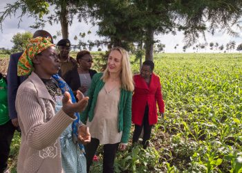 IFAD Vice-President tours Kenya to promote innovations for rural transformation and is excited with the resilience and innovation exhibited by Kenyan farmers