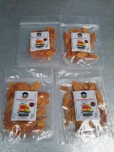 Dried Mangoes from Sweet and Dried. [Photo/KAVES]