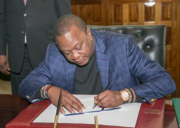 President Uhuru Kenyatta. He has rejected and returned the Finance Bill 2018 to parliament.