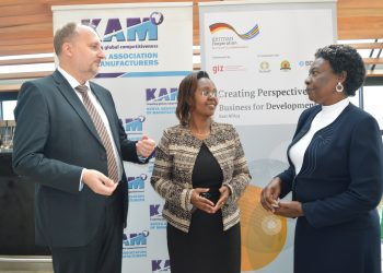 roject Head, Mr. Heine Eckhard, Head of KAM consulting Ms. Joyce Njogu and Ministry of Industry, Trade and Cooperatives - Enterprise Development Director, Ms. Jane Aranga