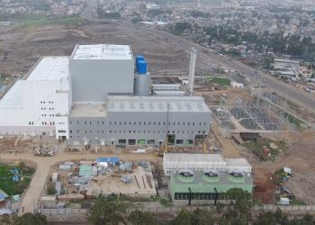 Reppie waste-to-energy facility plant in Addis Ababa