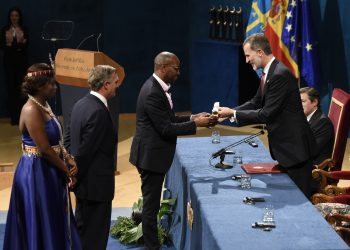 Amref Health Africa Group CEO, Dr Githinji Gitahi receives the Princess of Asturias Award for International Cooperation in Oviedo Spain.- The Exchange