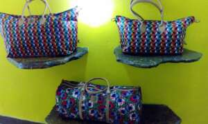 One of the items on sale at Bombolulu Workshops and Cultural centre- The Exchange