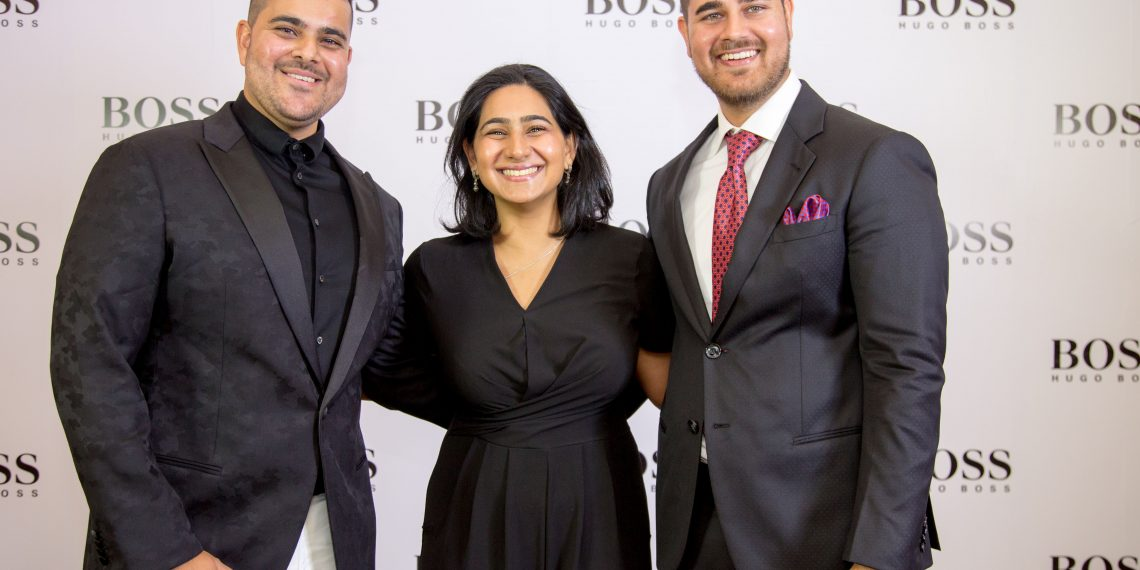 The next generation of Fazals who now operate the HUGO BOSS store in Westgate Mall