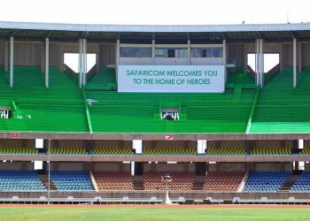 The Kasarani Stadium. Safaricom is sponsoring the first edition of the National Youth Deaf Athletics Championships to be held at the Stadium on Thursday and Friday this week. www.exchange.co.tz