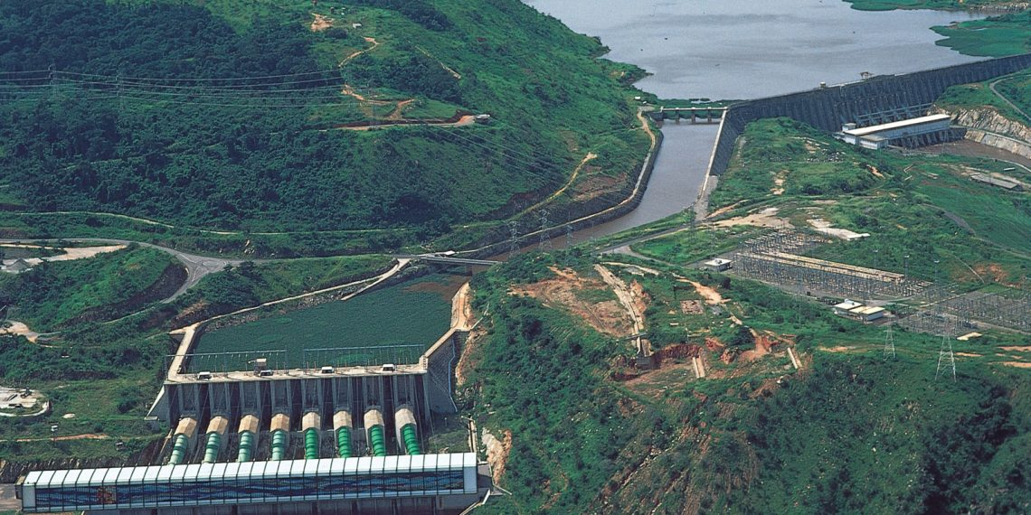 The Inga Dams 1 and 2. The The Grand Inga hydropower project could be the answer to Africa's power problems but frequent delays mean the benefit from its huge potential cannot yet be felt. www.exchange.co.tz