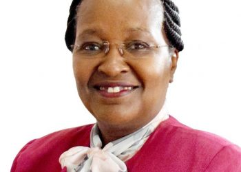 Prof. Marion Mutugi. She has been appointment the first Vice Chancellor of Amref International University (AMIU).
