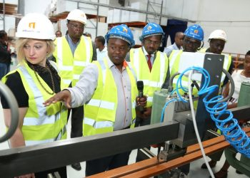 64Door Factory, a manufacturer of interior wooden doors has formally launched its investment in Kenya with opening of a state-of- the art production facility in Nairobi worth US$2.4 million. The company targets to provide high quality interior door sets and installation service to the building industry in East Africa.