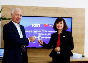 South Africa's mobile data-only network operator- Rain has launched the first 5G commercial network in South Africa in partnership with Huawei, the leading global ICT solutions provider. This move has made South Africa one of the first countries globally to launch 5G Commercial Network.Rain made the announcement at the 2019 Mobile World Congress (MWC 2019).