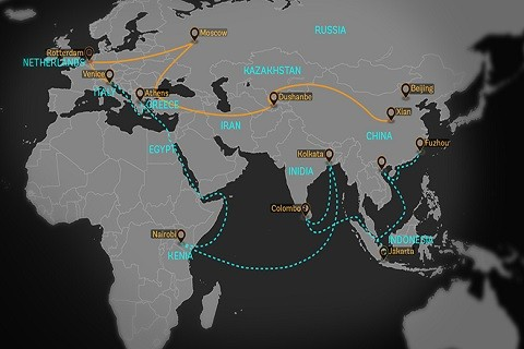 The One Belt One Road (OBOR) initiative of China connecting Africa to Europe and Asia including 1/3 of world trade and GDP and over 60 per cent of the world's population. China has managed to make its presence in Africa felt rousing the West in the latest scramble for the resource-rich continent. www.exchange.co.tz