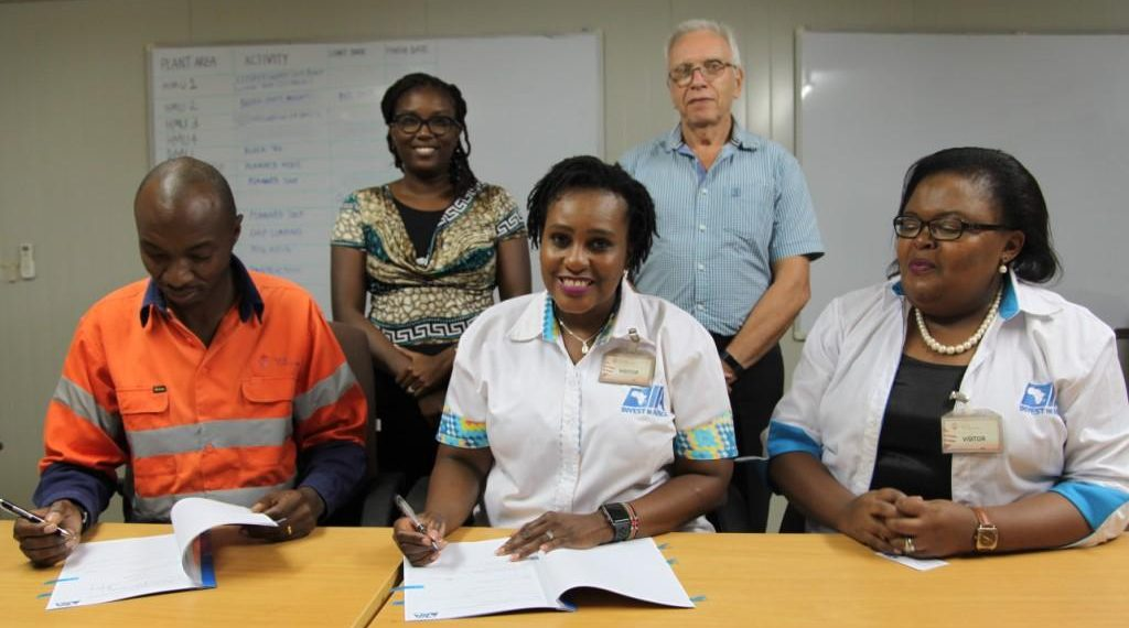 Kenya's largest miner Base Titanium has signed a Memorandum of Understanding with not-for-profit organisation and private sector growth catalyst Invest In Africa.The MoU will see Base Titanium harness and increase opportunities for local suppliers within Kwale County and Likoni Sub-County where the firm is mining titanium ores in the Kenyan coastal region.