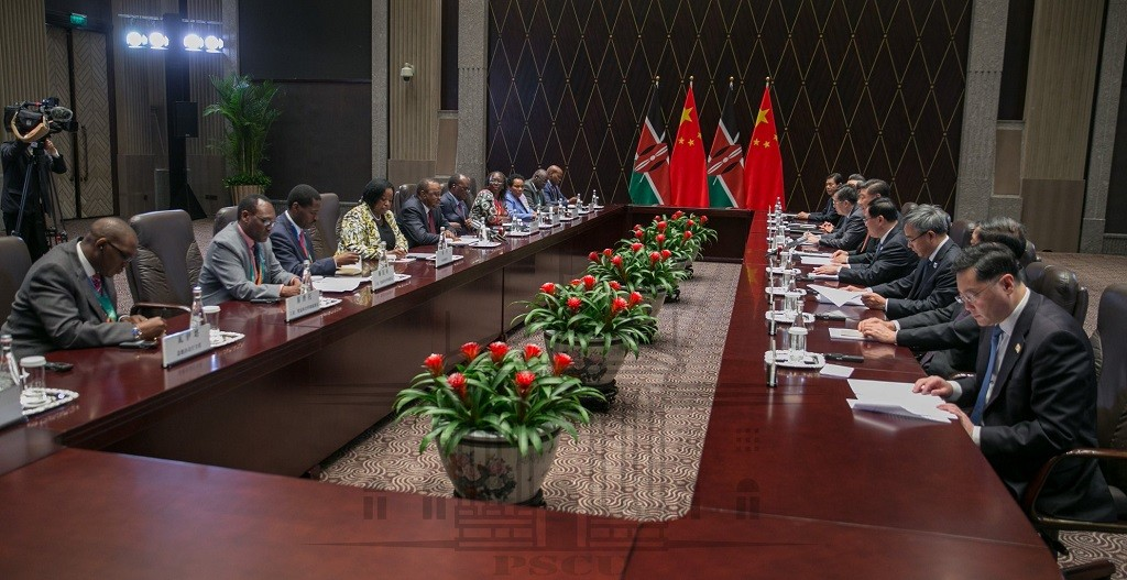A Kenyan and a Chinese delegation. China's internet and social media censorship are coming to Africa as dictatorship on the continent once again seems to be rearing its head again. www.exchange.co.tz