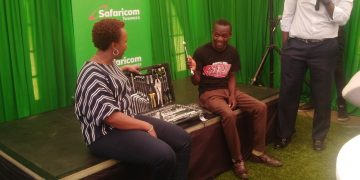 Safaricom has unveiled its 30th million customer as it moves to cement its position as the leading telecommunication company in Kenya. The telco which unveiled the customer on Monday announced it will fulfill his ambition to join a leading technical institution in the country. Denis Muthii, aged 19 from Kimunye in Kirinyaga County, will see Safaricom fund his tuition and upkeep for a technical course in Mechanical Engineering.The telco has increased its customer base to more than 30 million beating its bitter rival Airtel among other service providers in Kenya.